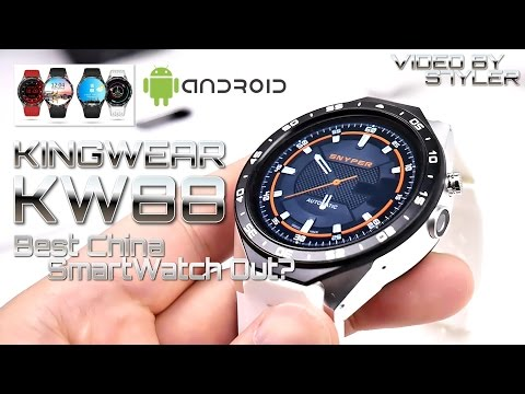 Best Unknown China SmartWatch? KingWear KW88 ⌚ (In-Depth Review) AMOLED // Video by s7yler