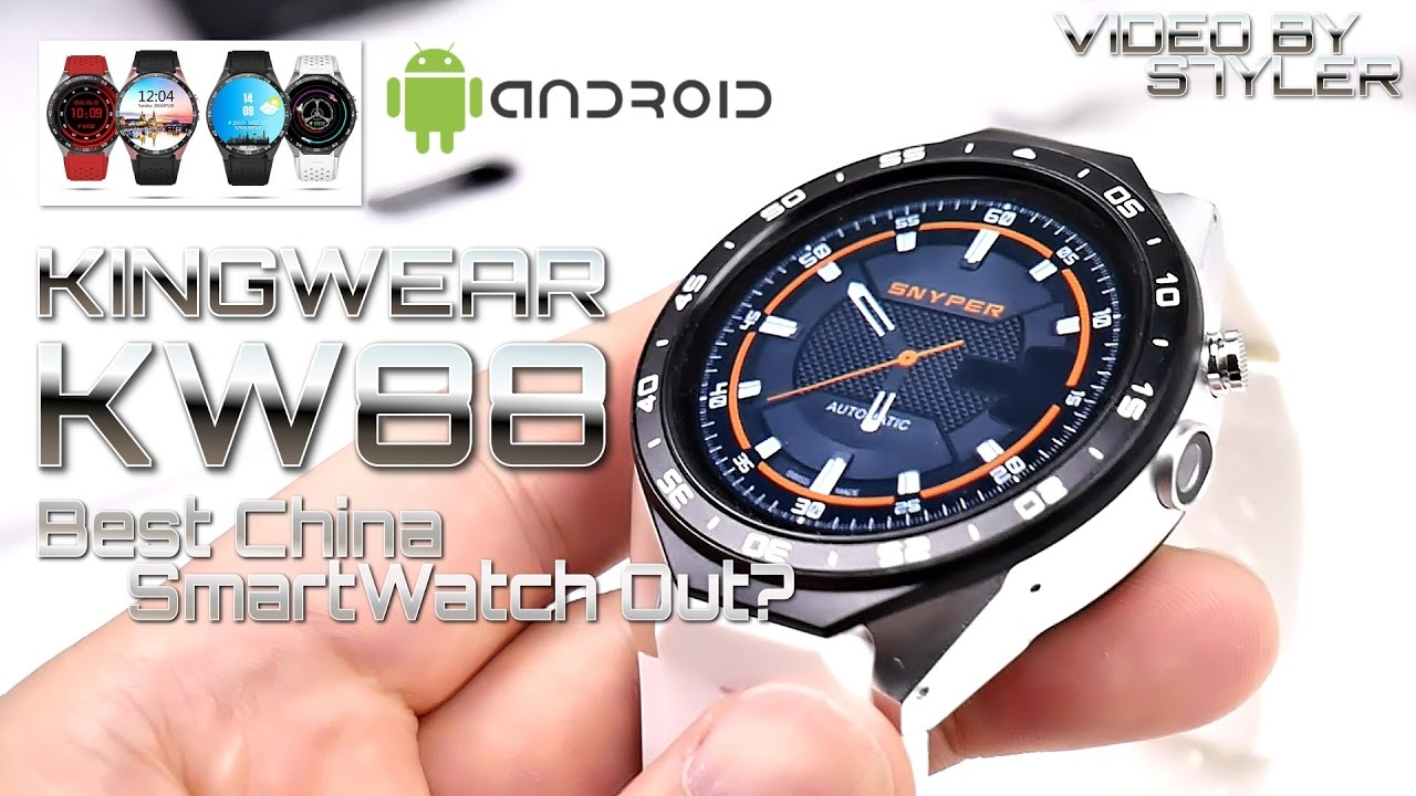 Best Unknown China Smartwatch Kingwear Kw88 In Depth Review