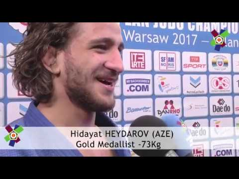 #JudoWarsaw2017: Interview with Hidayat HEYDAROV -73kg