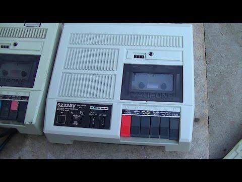 Califone Classroom Tape Player Recorder Review 5232AV