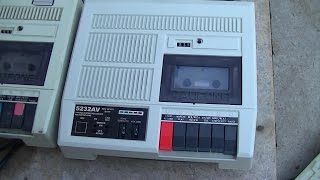 Califone Classroom Tape Player Recorder Review 5232AV