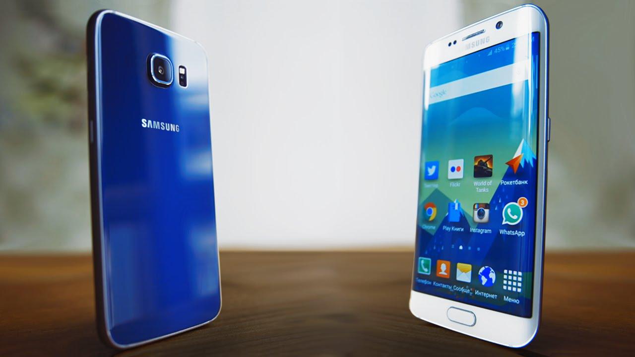 Подробный Обзор Galaxy S6 и S6 Edge Сравнение | Обзор Смартфона Samsung Galaxy S 6 EDGE после 6 Месяцев Пользования.