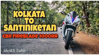 Santiniketan Ride | Bolpur Subscribers Meetup | CBR Fireblade 1000RR