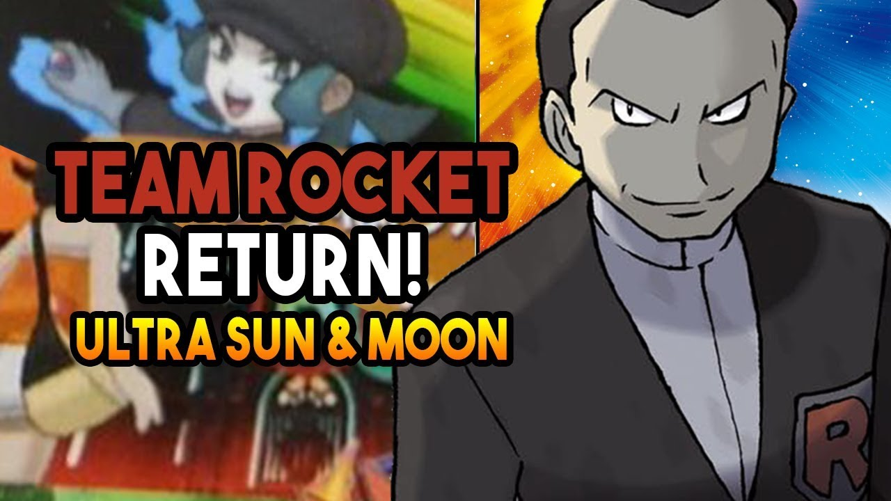 Image result for pokemon ultra sun and moon team rocket