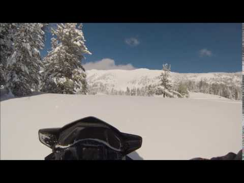 Snowmobiling Montana, Big Sky Trail 2017