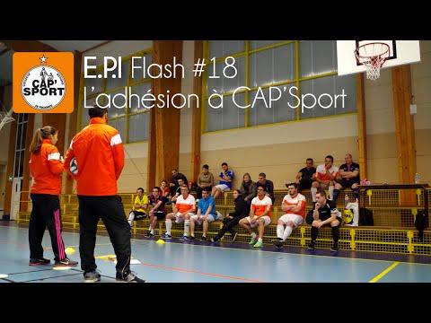 E.P.I Flash #18 - L'adhesion à CAP'Sport
