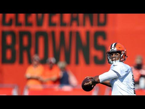 Browns QB coach David Lee on DeShone Kizer's progress