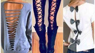 do it yourself    DIY Clothes Life Hacks! 15 Easy Crafts Ideas for Girls!
