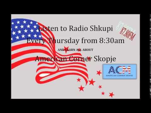 American Corner Skopje @ Radio Shkupi - 5th Radio Program