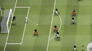 Stickman Soccer, World Season Belgium - Croatia Match Android GamePlay 29