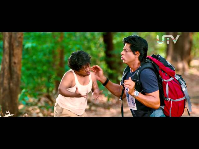 Chennai Express I SRK tries to talk in Tamil I Movie Scene Travel Video