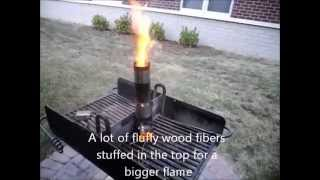 Soup Can Rocket Stove