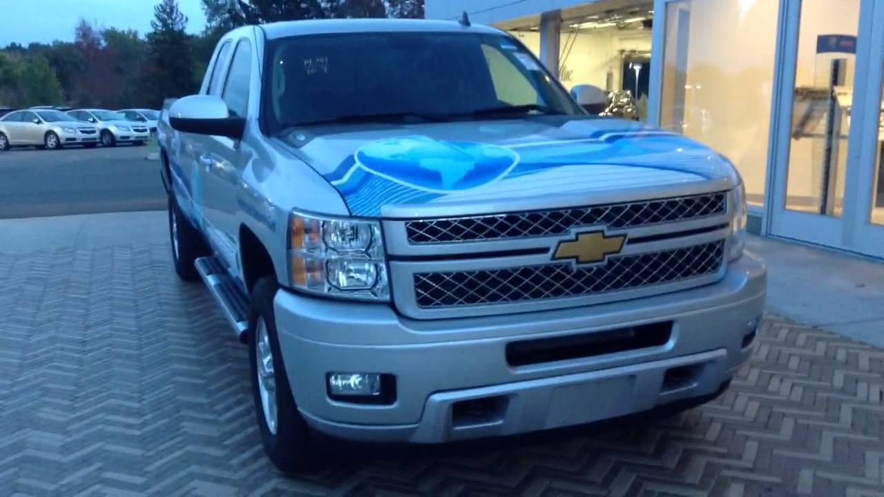 All Chevy 2013 chevy 2500hd ltz : 2013 Chevy Silverado 2500HD Ext Cab 4WD LTZ CNG Truck - YouTube