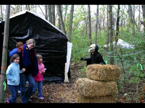 haunted forest walkthe scariest woods in woodridge await you youtube