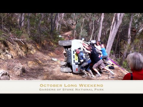 4WD Gardens Of Stone NP