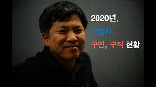 2020년, 개발자 구인, 구직 현황