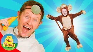 Five Little Monkeys | Kids Songs and Nursery Rhymes | The Mik Maks