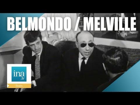 "Jean-Paul Belmondo et Jean-Pierre Melville ""Léon Morin prêtre"" | Archive INA"