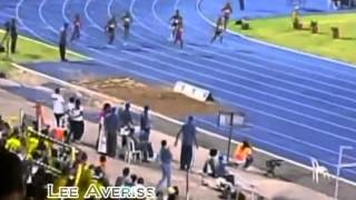 Womens 200m Final Feat Fraser Pryce and Campbell Brown   Jamaica National Championships 2012