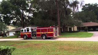 Ocoee Fire/Rescue Engine 39 Responding (Code 2)