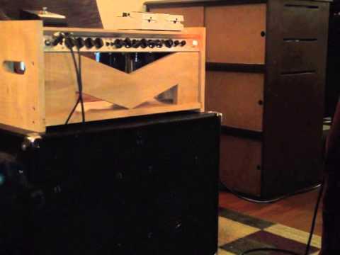 London Power Standard amp built into Fender Bassman 10 chassis