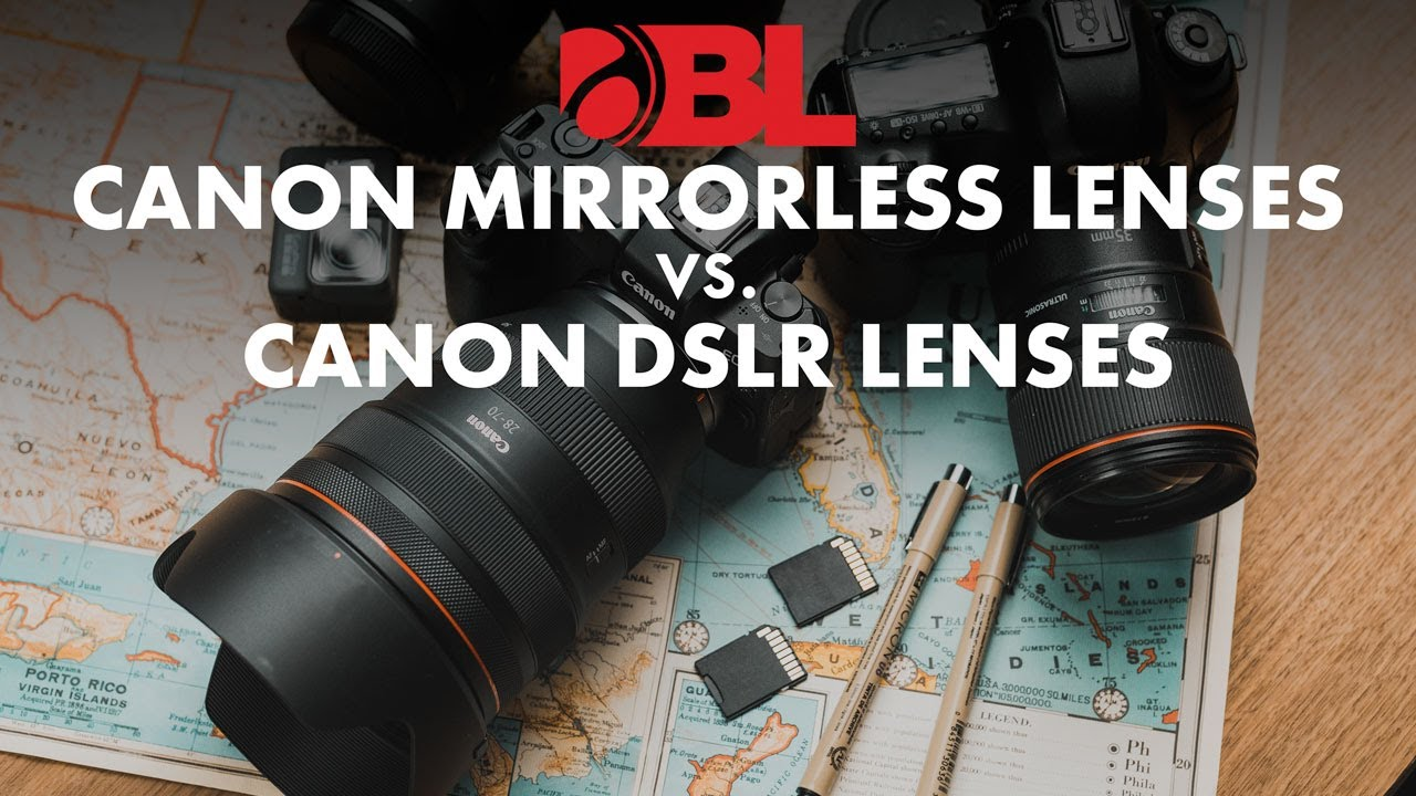 Video Canon Rf Vs Ef Lenses On The Canon Mirrorless System
