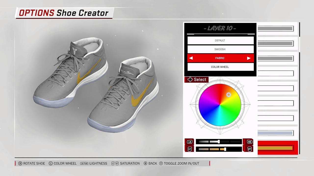 NBA 2K18 Shoe Creator - Nike Kobe AD Mid