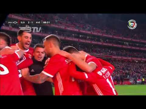 Goal | Golo André Almeida: Benfica (2)-1 Desp. Aves (Liga 19/20 #16)