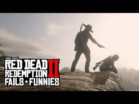 Red Dead Redemption 2 - Fails & Funnies #35