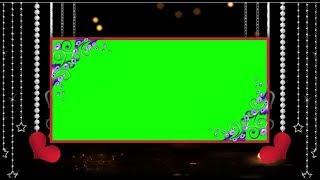 GREEN-SCREEN-HINTERGRUND, VIDEO-LOOP || DMX-HD-BG 237