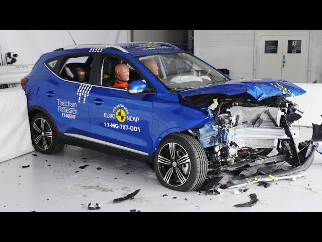MG ZS - 2017 - Crash test Euro NCAP
