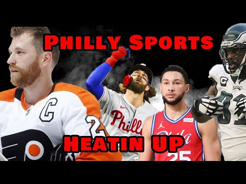 """Philly Sports """"Heatin Up""""   Sports Edit"""