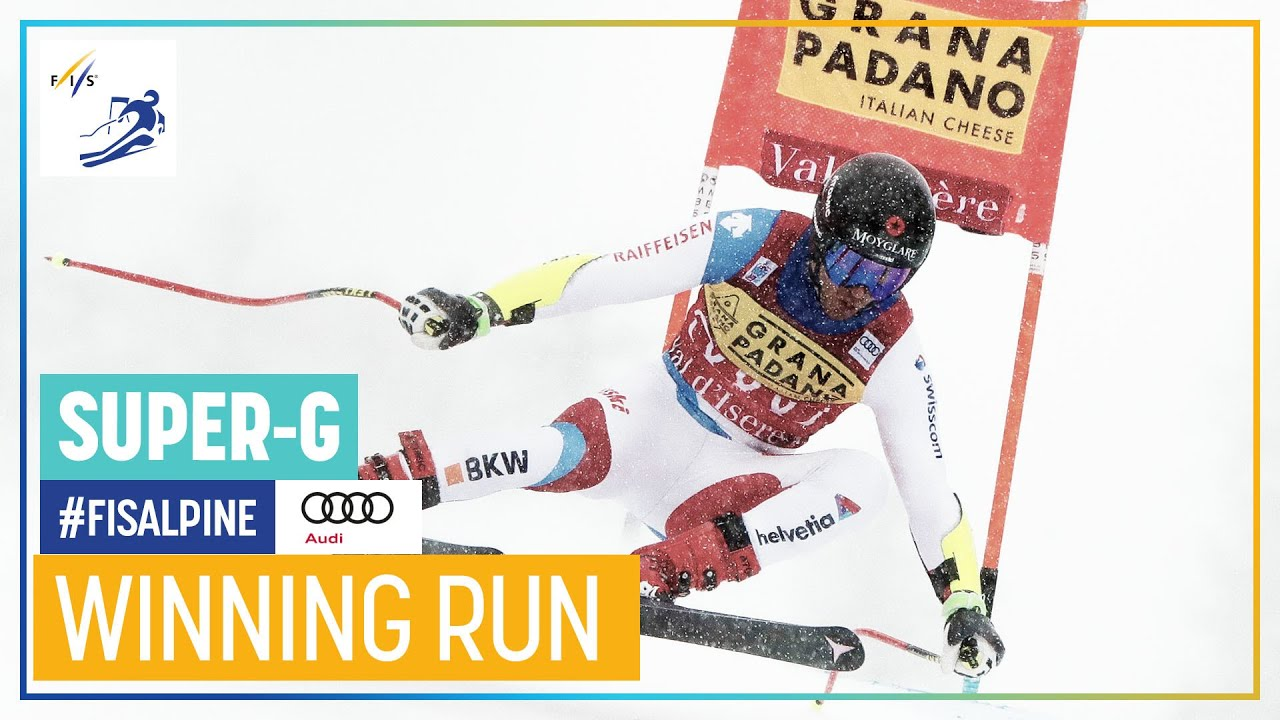 Mauro Caviezel Wins First Speed Race of the Season in Val d'Isère
