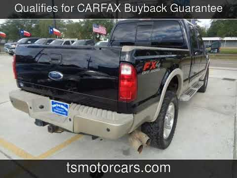 Ford Super Duty F  Srw King Ranch Used Cars Houstontx
