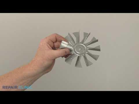 Convection Fan Blade - Kitchenaid Double Oven Electric Range #KFED500ESS02
