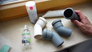 видео Монтаж канализационных труб труб