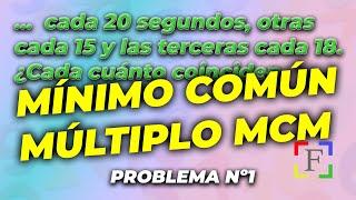 Problema de mínimo común múltiplo (01023)