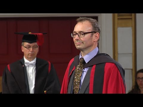 Charles Bishop - Honorary Degree - University of Leicester