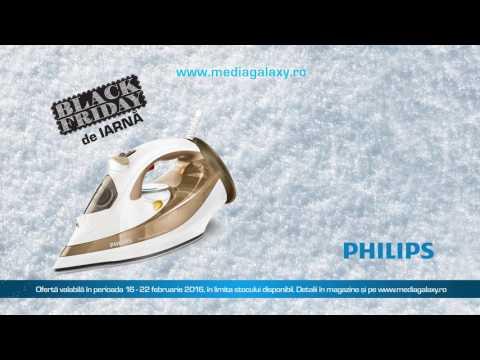 Reclamă fier de călcat Philips - MediaGalaxy BF