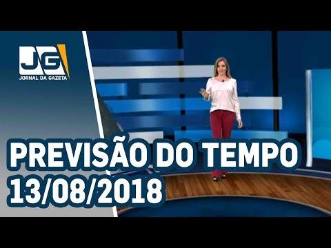Previsão do Tempo - 13/08/2018