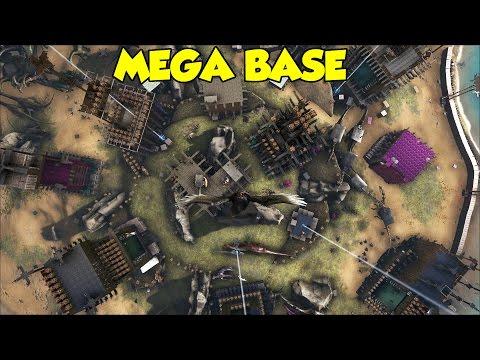 MEGA BASE OFFICIAL 1 Ark Survival Evolved