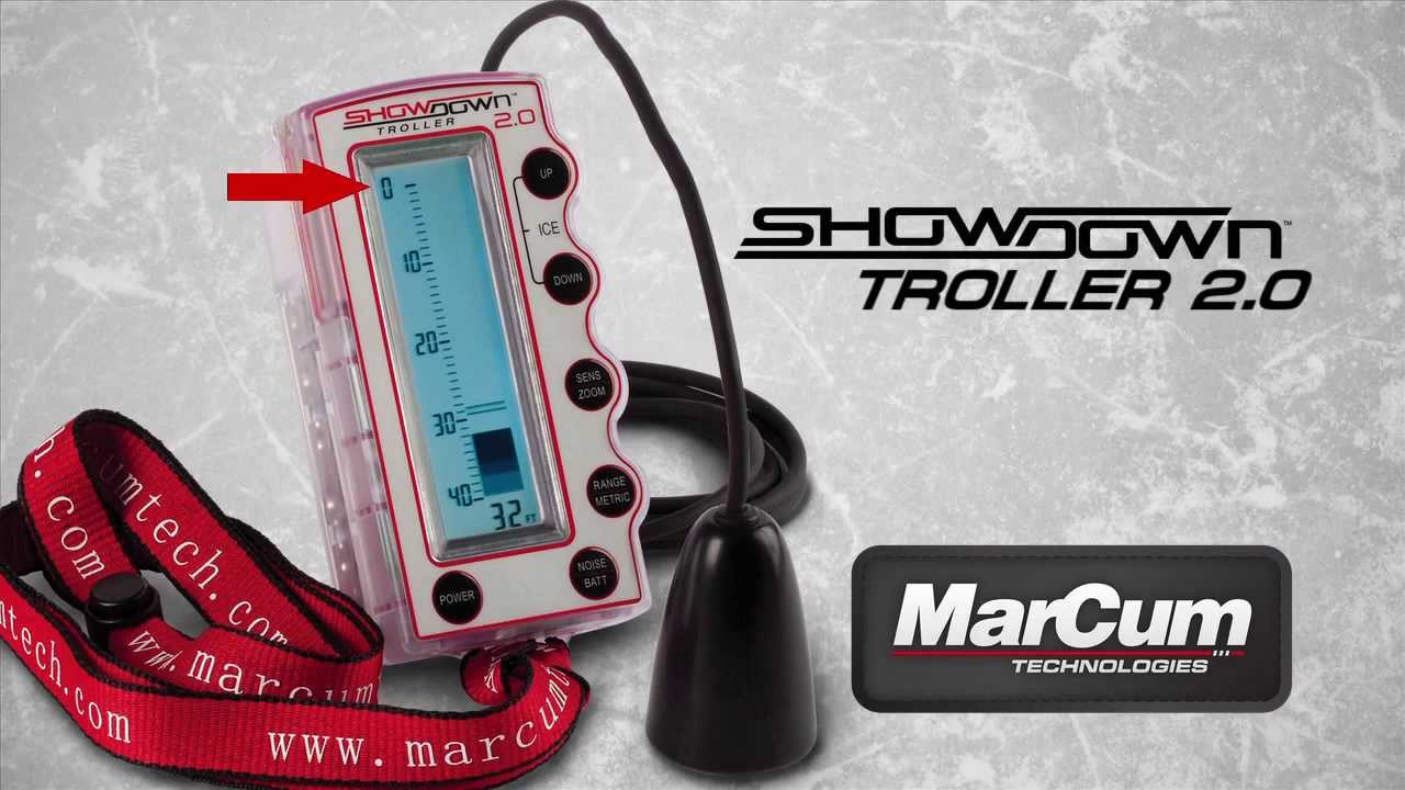 marcum® showdown troller 2.0 - youtube, Fish Finder