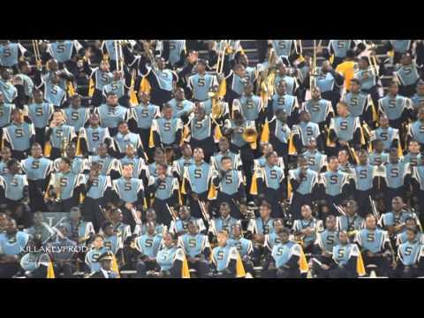 Southern University Marching Band - Nobody Does It Better Mashup - 2015