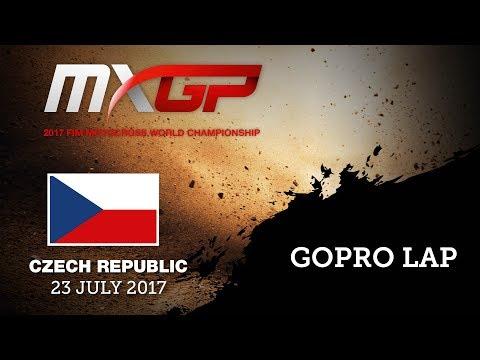 First GoPro Lap with Nancy VAN DE VEN_MXGP of Czech Republic 2017 #Motocross