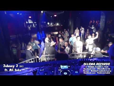 Johnny J ft. MC Seko Live at Wobble Trouble & Void Antwerp Clip #1