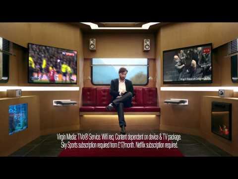 David Tennant presents Virgin Media's new Big Kahuna bundle! (30 second edit)