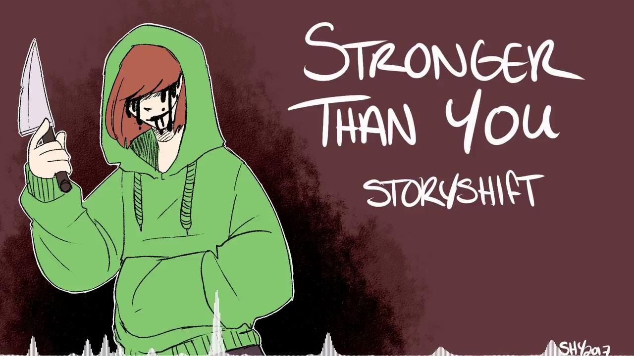 Stronger than you -chara response-「undertale parody」 (lyrics.