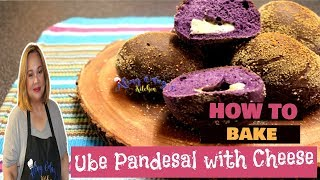 Ube Pandesal with Cheese
