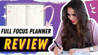 The Best Planner For Entrepreneurs | Full Focus Planner Review