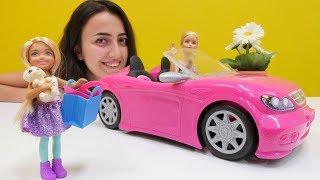 Anaokulu oyunları! Steffi ve Barbie kreşe hazırlanıyorlar